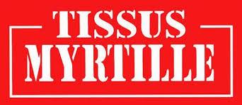 Tissus Myrtille