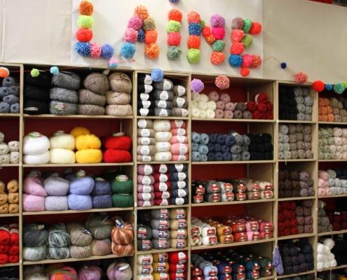 pelote de laine et tricot quimper