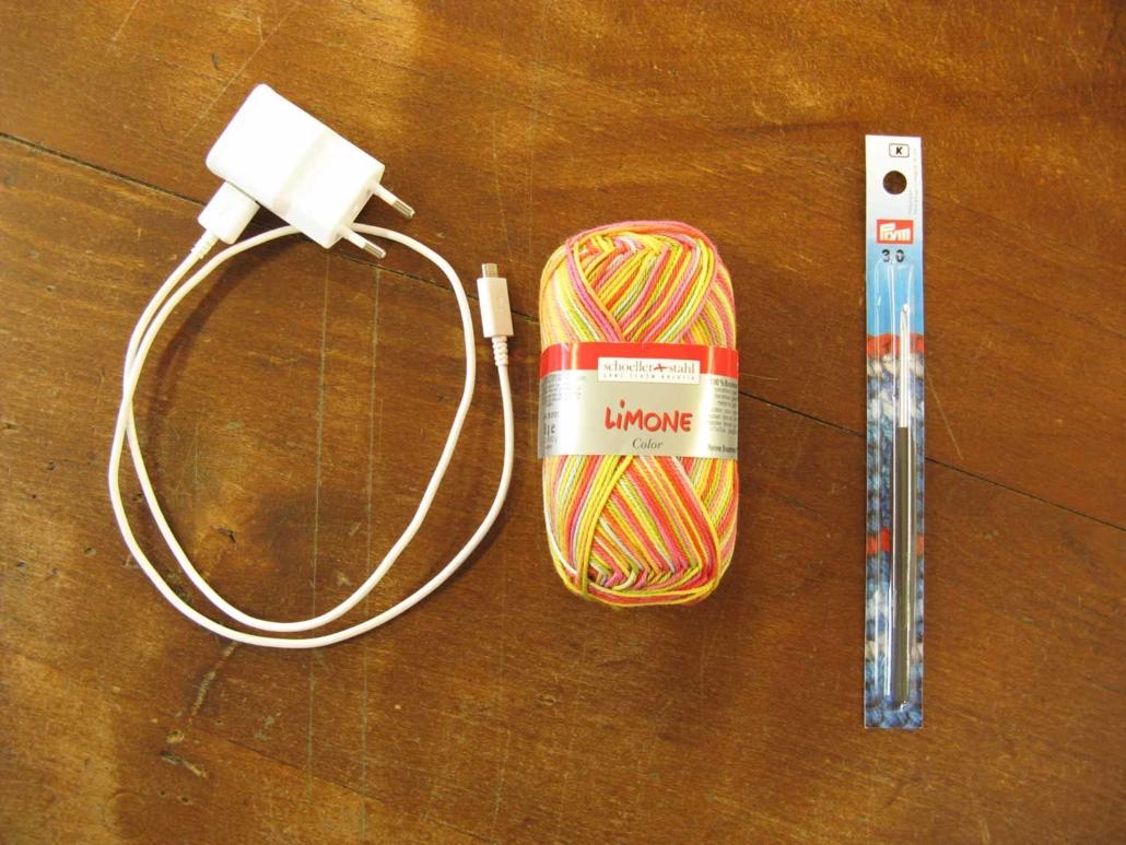 Comment Cacher Ses Cables customisez votre chargeur ! | tissus myrtille